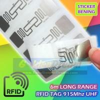 Long Range RFID Tag UHF 915Mhz Label Sticker Sensor Chip H3 AZ 9662 6m