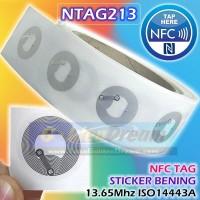 NTAG213 Universal NFC Tag 13.56Mhz ISO14443A NTag 213 Sticker Label RF