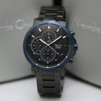 Jam Tangan Pria Alexandre Christie AC 6350 Black Blue Original