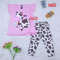 Setelan Olivia uk. 2-7 th // Ekspor Quality - Baju Anak Perempuan Kaos