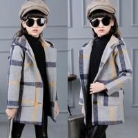 Terbaru Jaket Winter Korean Coat Hoodie Gray Lovers Original