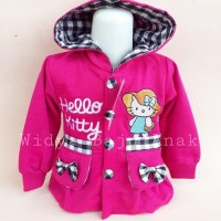New Sale Jaket Sweater Anak Perempuan Hello Kitty Jamin100%