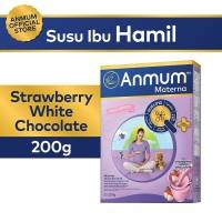 Anmum Materna Strawberry White Choco 200gr - Susu Ibu Hamil