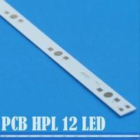 Pcb panjang led luxeon hpl 1 - 5 watt seri 12 led LONG PCB Aluminium