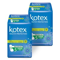 Kotex Healthy Protection Slim Non Wing 20s 2 Pack