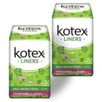 Kotex Liners Longer & Wider Daun Sirih 32s 2 Pack