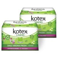 Kotex Liners Longer & Wider Daun Sirih 16s 2 Pack