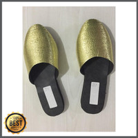 Sandal Selop Emas Anak Baju Adat Jawa Pilihan