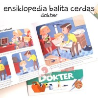 Zoetoys Ensiklopedia Balita Cerdas - Dokter   Buku Edukasi Anak