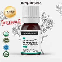 Natuna Peppermint Essential Oil Pure Minyak Essensial Atsiri Aroma Ter
