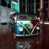 Diecast - Miniatur Mobil Jada VW Bus Motif Marble Skala 24 limited