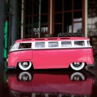 Diecast - Miniatur Mobil Jada VW - Volkswagen Bus - Combi Skala 24