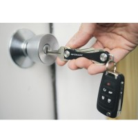 Keysmart Swiss Army Style Keychain Organizer and Holders L Size Black