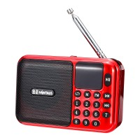 Bonama 5V 3W Portable USB Radio FM MP3 Kartu Memori U-disk Speaker