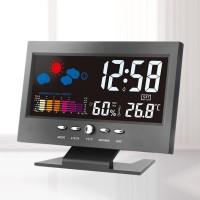 [Bayar di Tempat] Jam Digital Elektronik dengan Pengukur Suhu +