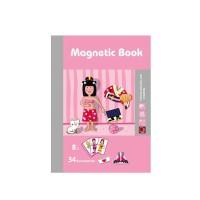 Papan Gambar Puzzle Magnetik Bahan Kayu untuk Edukasi