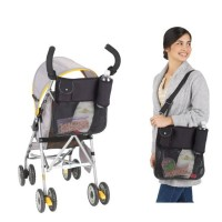 Promo Tas Organizer Perlengkapan Bayi Warna Hitam untuk Stroller
