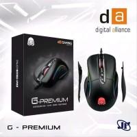 Mouse Gaming Digital Alliance G Premium - DA Premium Black Modular R