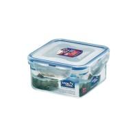 Locklock Square Short Food Container 420ml Hpl850 Hpl 850