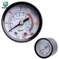 Air Compressor Pneumatic Hydraulic Fluid Pressure Gauge 0-12Bar / 0-18