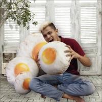 Bantal Telur Bantal Telur Ceplok Bantal Telor Bantal Unik Size XL
