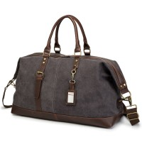 TAS KANVAS TRAVEL KABIN DUFFLE BAG TRAVELING- CANVAS TRAV