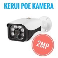 POE CCTV KAMERA KERUI 2MP CCTV POE RJ45 Indoor Outdoor IR Cut poe NVR