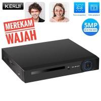 KERUI Paket CCTV POE NVR 8 Channel Mendeteksi Wajah