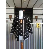 kebaya kutubaru batik print jumputan size jumbo (seragam) MURAH