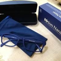 Kacamata Terapi Nano Klink Kacamata k Ion K link WARNA BIRU TUA
