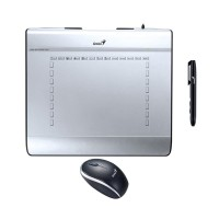 Genius MousePen I608X 6 X 8 Inch Pen Tablet With Cordless Mouse Pen