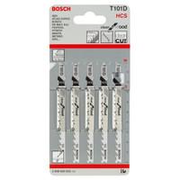 Bosch Mata Gergaji Kayu Halus/ Jigsaw Blade T 101 D Clean