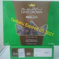 Kurma Date crown khalas 1kg New expired