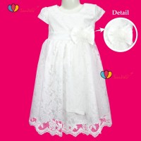Gaun Pesta Size 3-12 Tahun / Eksport Quality Premium Brukat Dress Anak