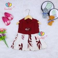 Dress Bilqis size Bayi - 6 Tahun / Dres Yukensi Murah Grosir Baju Anak - 6-12 Bulan