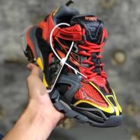 Sepatu Balenciaga Track 2 Red/black yellow - Premium Original