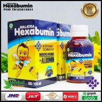 Madu Plus Albumin - Walatra Hexabumin - Penambah Nafsu Makan Anak