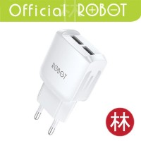 Robot RT-K6 2.4A Dual Output Charger Fast Charging