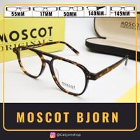 kacamata frame MOSCOT BJORN (TORTOISE) kacamata Vintage Jadul Big Size