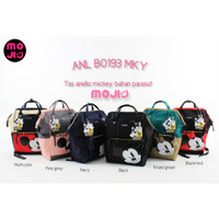 ANELLO Backpack Kombinasi Mickey Mouse Good Quality / Tas Ransel V2.0