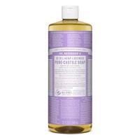[ 32 Oz ] Dr. Bronner's Magic Soap Lavender Pure Castile Soap