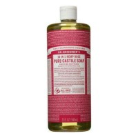 [ 32 Oz ] Dr. Bronner's Magic Soap Rose Pure Castile Soap