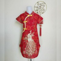 Dress Cheongsam Imlek Anak Perempuan
