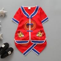 Cheongsam Setelan Baju Anak Import   baju imlek Kualitas Premium 6