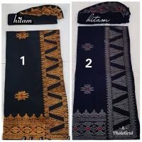 baju bali set saput udeng songket bordir oleh oleh khas bali