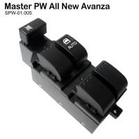 Switch Master Power Window Toyota Avanza All New - Saklar Power Window