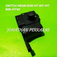 switch mesin bor/saklar mesin bor/on off mesin maktec mt60-mt80B-mt817