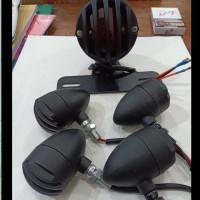 paket lampu japstyle 4 pcs sen 1 lampu stop