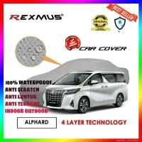 Rexmus Sarung Body Cover Mobil Premium 4 Layer Waterproof for Alphard