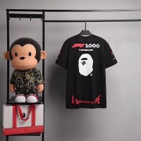 T-SHIRT BAPE X F1 MIRROR PERFECT CLONE 1:1 BEST OF The BEST QUALITY